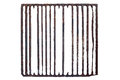 Old, rusty prison grating Royalty Free Stock Photo