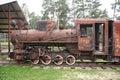 Old Rusty Steam Locomotive Royalty Free Stock Photo
