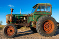 Old Rusty Tractor Stock Image