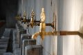 Old rusty water tap dripping Royalty Free Stock Photo