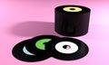 Old records nostalgia