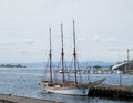 Old sailing ship in Oslo, Norway Stock Images