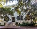Old Savannah Home Royalty Free Stock Photo