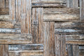 Old scratched bamboo board Royalty Free Stock Photo