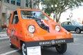 Old Sebring Vanguard Citi-Car at the car show Royalty Free Stock Photo