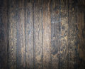 Old, shabby and vitage floor. Wooden brown planks textur. Royalty Free Stock Photo