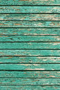 Old shabby wooden planks with cracked paint, retro wood background