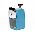 Old sharpener white background Stock Photo