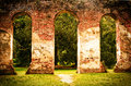 Old Sheldon Church Ruins Royalty Free Stock Photo