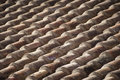 Old shingles on the roof of a house Royalty Free Stock Photo