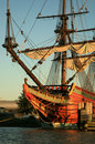 Old ship - Batavia Royalty Free Stock Image