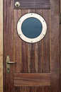 Old ship door Stock Photography