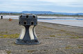 An old ships winch or bollard at lydney docks in gloucestershire uk Stock Photos