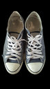 Old shoe top view isolate Royalty Free Stock Photo