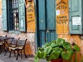 Old Shop Front, Galaxidi, Greece Royalty Free Stock Photo