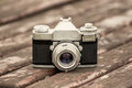 Old SLR camera Royalty Free Stock Photo
