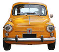 Old Small Car Royalty Free Stock Photo