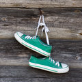 Old sneakers Royalty Free Stock Photo