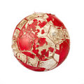 Old soccer ball Royalty Free Stock Photo