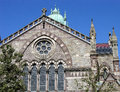 Old south church the north in boston is famous but there is an too Royalty Free Stock Image