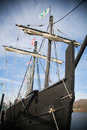Old Spanish Sailing Ship Royalty Free Stock Photo