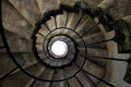 Old spiral staircase Royalty Free Stock Photo