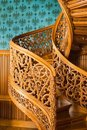 Old spiral stairs Stock Photo