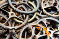 Old sprockets Royalty Free Stock Image