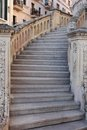 An old staircase Royalty Free Stock Images