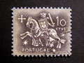 Old Stamp (Knight Templar) Royalty Free Stock Photo