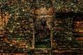 Old statue at wat kaew chaiya suratthani thailand Stock Images