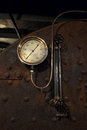 Old Steam Boat Gauge Royalty Free Stock Photo