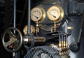 Old steam engine detail Stock Photography