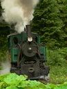 Starodávna parná lokomotíva