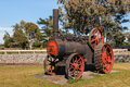 Old steam traction engine Royalty Free Stock Photo