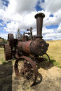 Old Steam Tractor Royalty Free Stock Photo