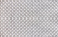Old steel diamond plate pattern background texture. Royalty Free Stock Photo