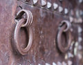 Old steel door Royalty Free Stock Photos