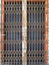 Old steel door in georgetown Royalty Free Stock Photo