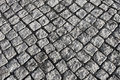 Old stone block pavement background image of with large stones Stock Image