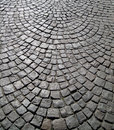 Old stone block paving background Stock Image
