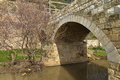 Old stone bridge. Royalty Free Stock Photo