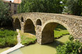 Old stone bridge in Vic Royalty Free Stock Photo