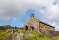 Old stone church in Buttermere Village Royalty Free Stock Photo