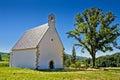 Old stone church on Kalnik mountain Royalty Free Stock Photo