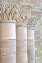 Old stone pillars Royalty Free Stock Photo