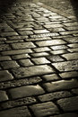 Old stone street Royalty Free Stock Photo