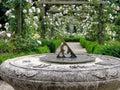 Old Stone Sundial Royalty Free Stock Photo