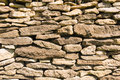 Old stone wall close up Stock Photography