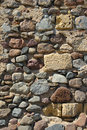 Old stone wall in europe Royalty Free Stock Photo
